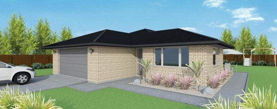 First Homes House Plan FH160A 3D