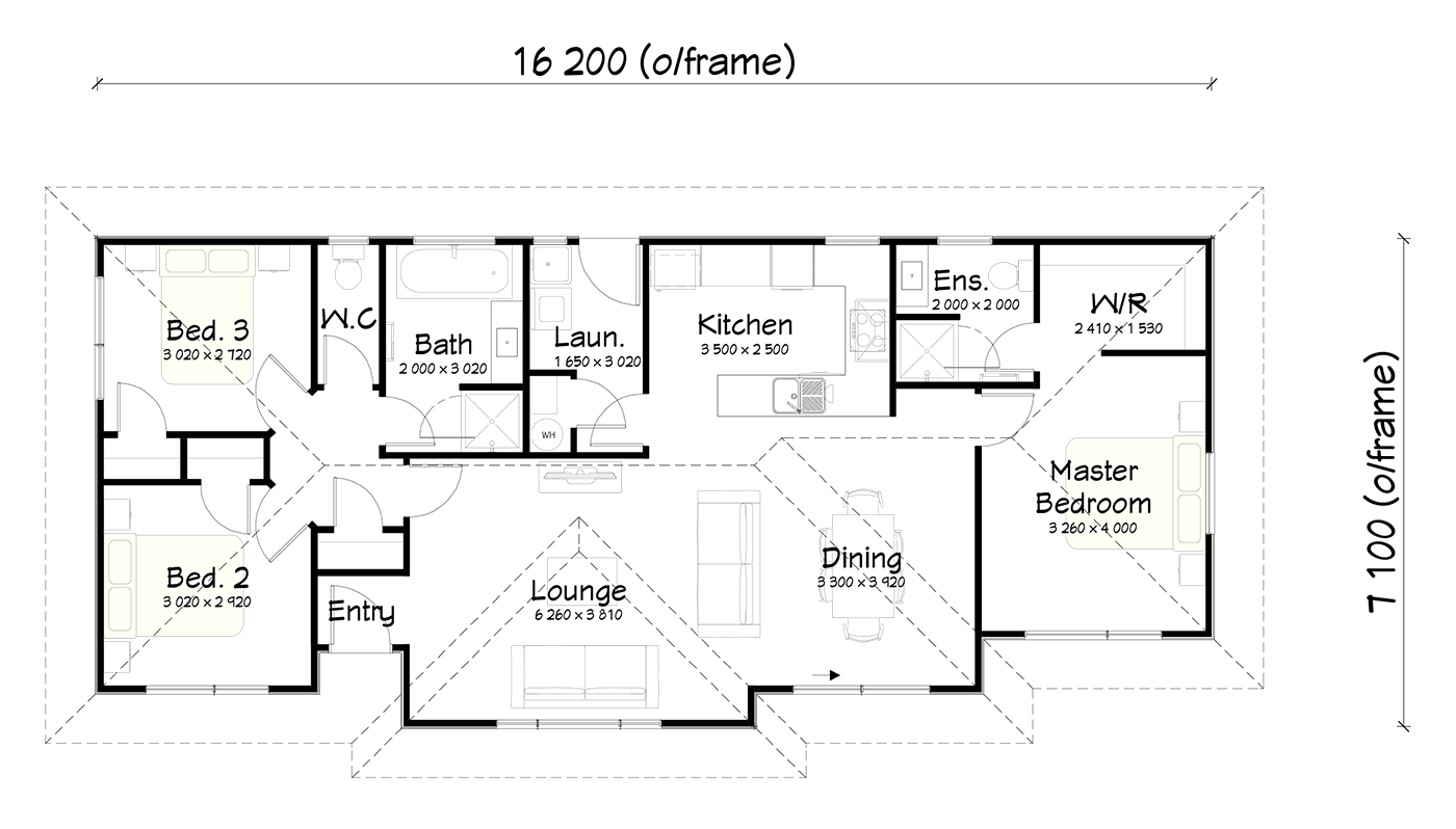 FH106 floor plan