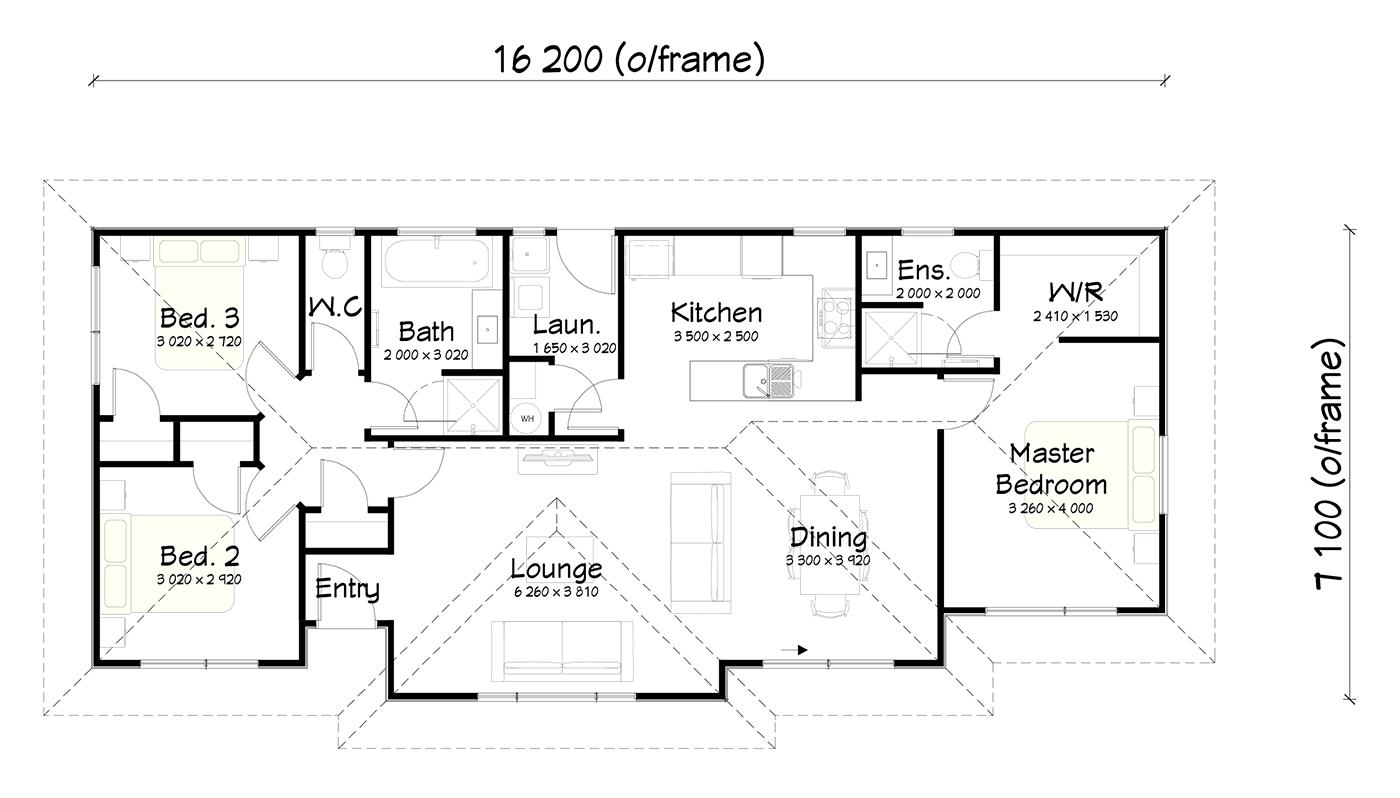 FH106 floor plan