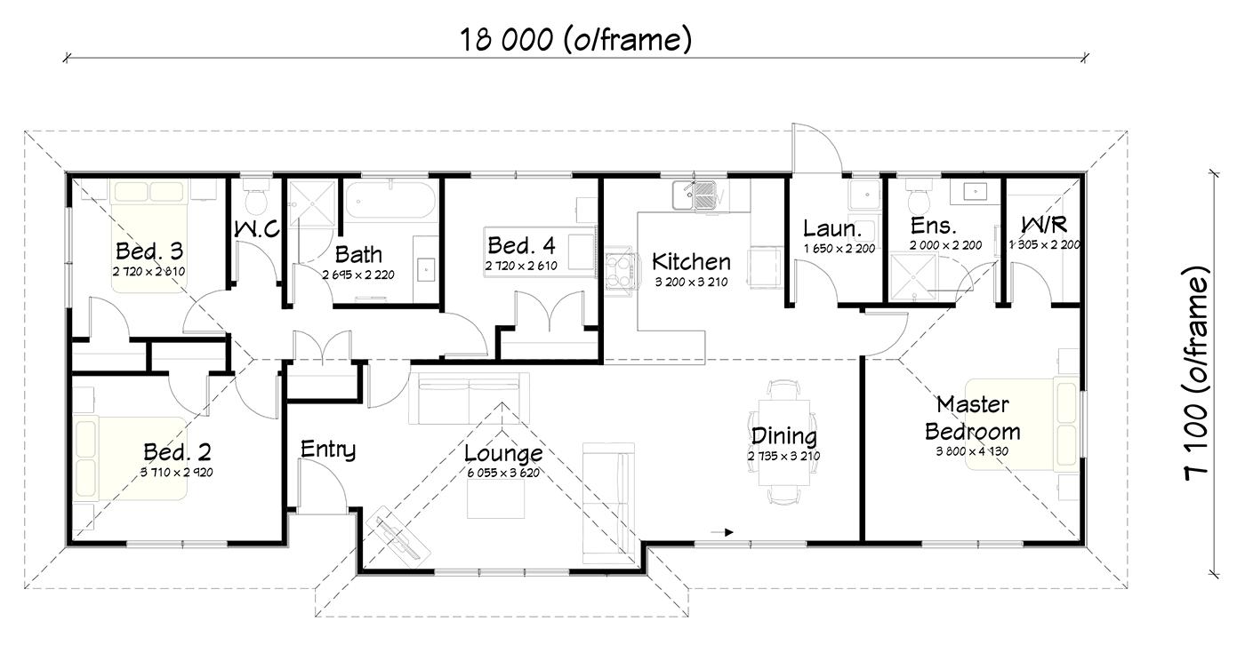 FH120 floor plan