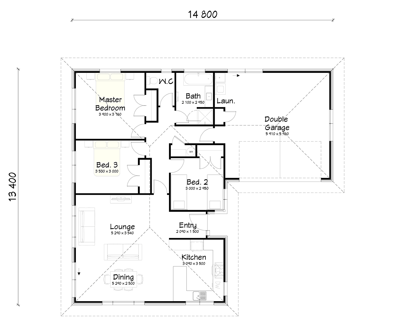 FH155 floor plan