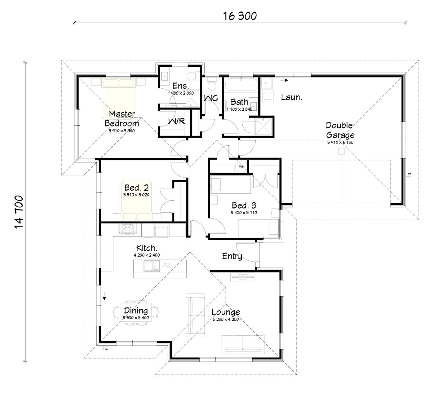 FH172 floorplan