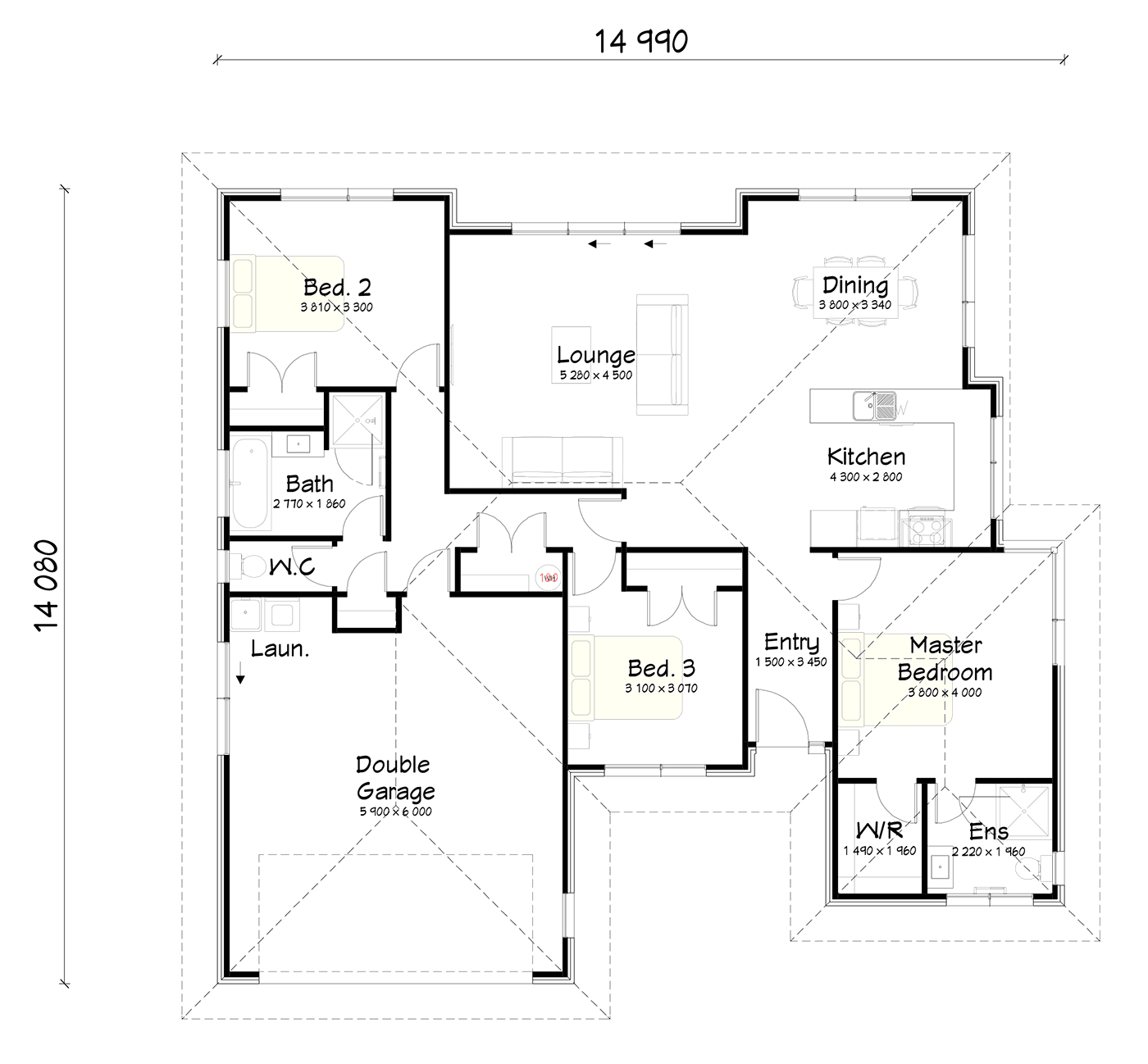 FH177 floor plan