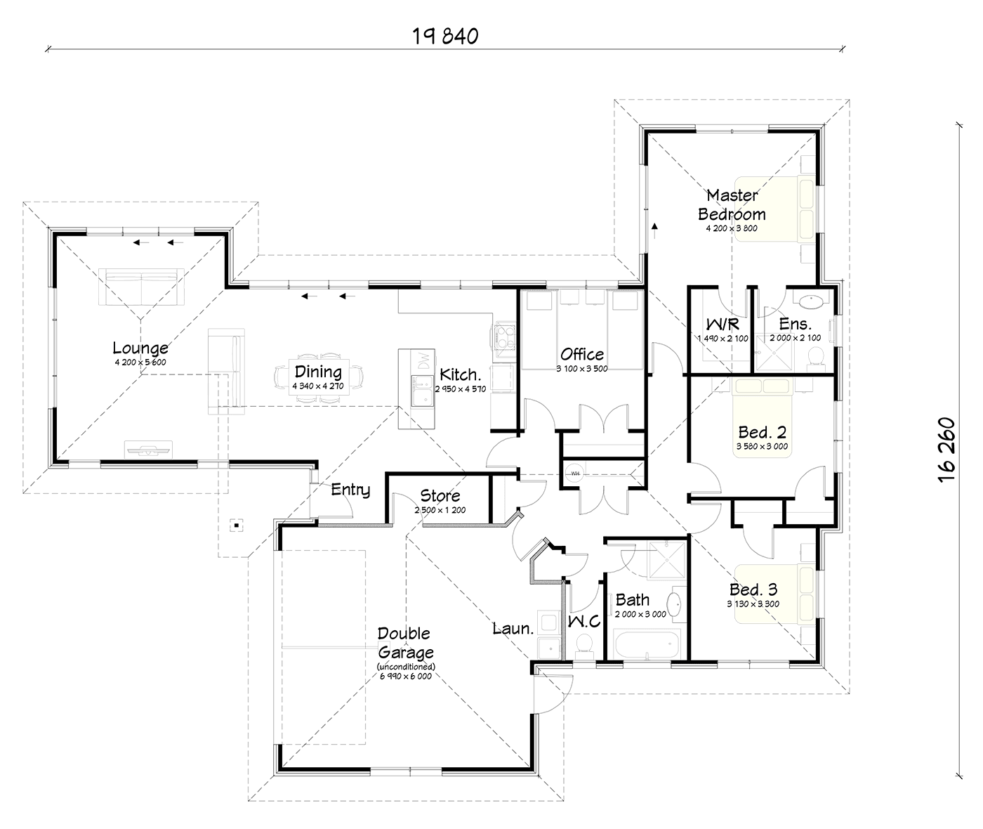 FH203 floor plan