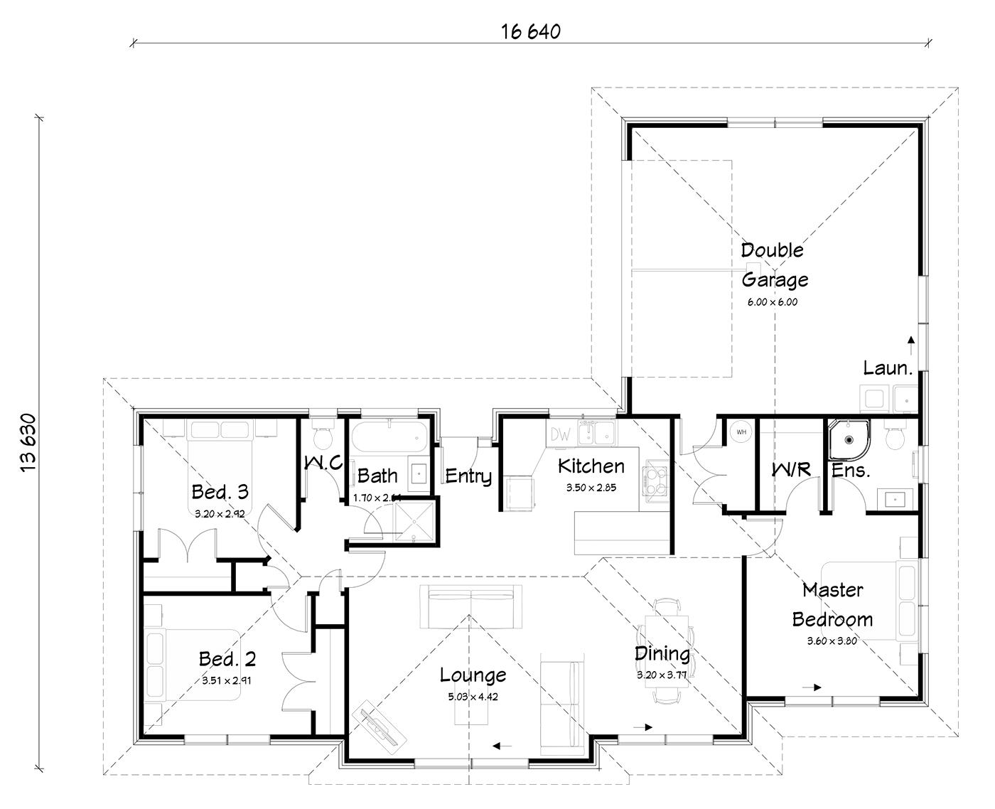 FH155B floorplan