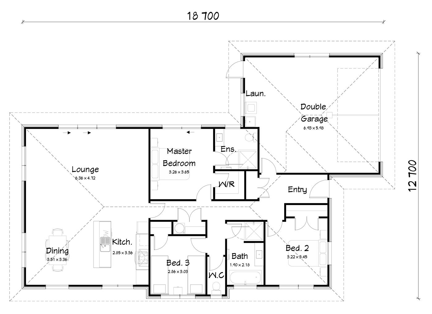 FH172B floorplan