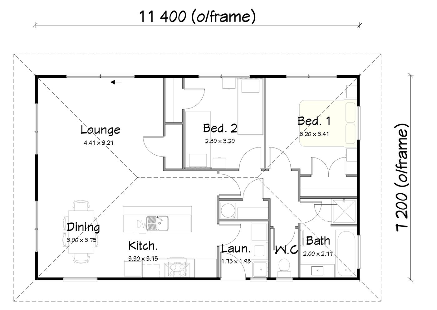 FH82 floorplan
