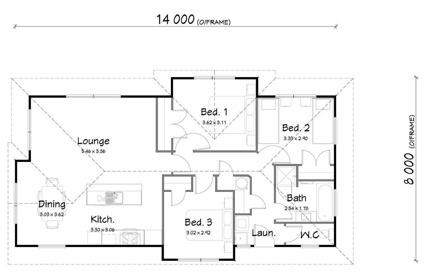 FH96 floorplan